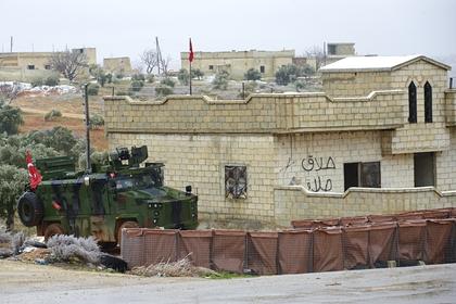 Турция продолжила поддержку боевиков в Идлибе