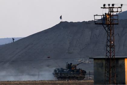 Турция уничтожила сирийский конвой