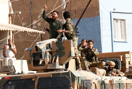 Члены Сирийской свободной армии — одного из крупнейших объединений вооруженных сирийских группировок