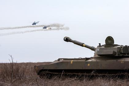Украина провела военные учения для «противодействия российской армии»