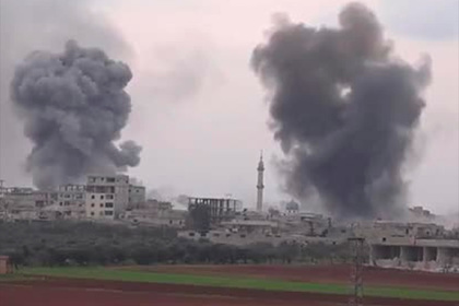 Бомбардировщики ВКС России провели массированную атаку после бойни в Идлибе