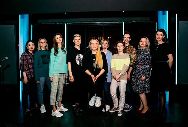 Команда «Женского стендапа»