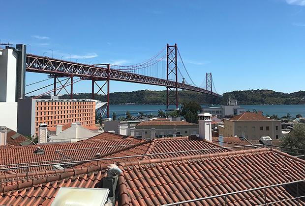 Трамваи в столице Португалии