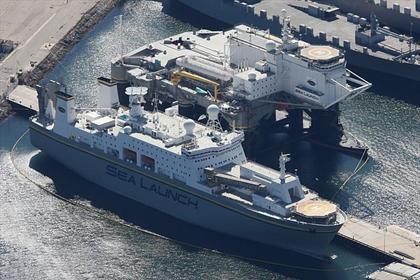 «Морской старт» покинул США и направился в Россию