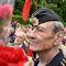 Участник акции «Бессмертный полк» в Киеве, посвященной 74-й годовщине Победы в Великой Отечественной войне