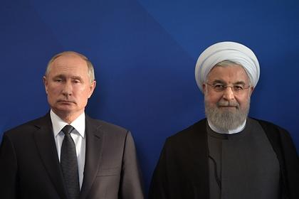 Путин обсудил коронавирус с президентом Ирана