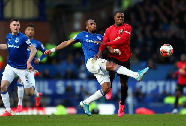 Матч «Эвертон» — «Манчестер Юнайтед»