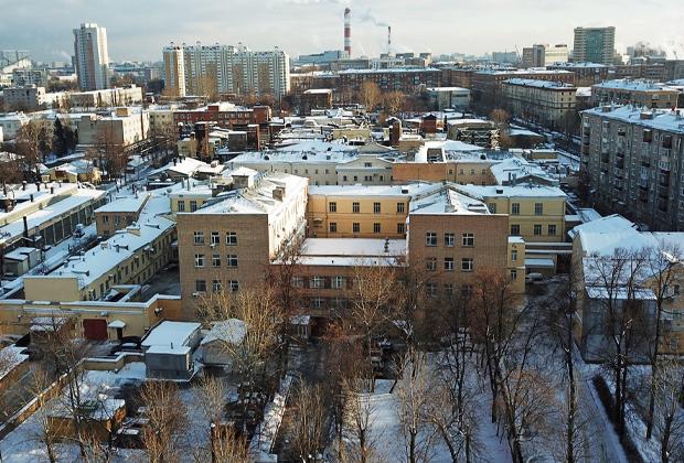 Здание СИЗО «Лефортово»