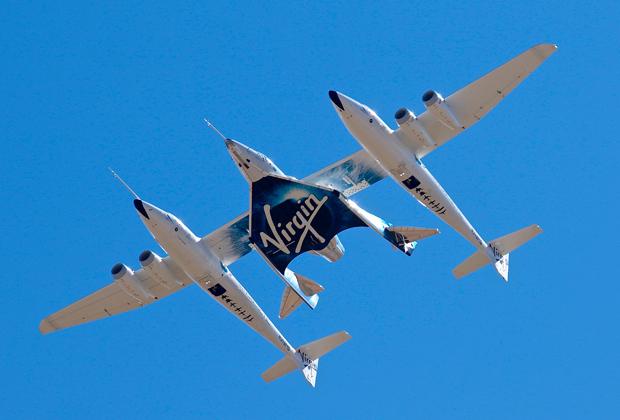 Аппарат компании Virgin Galactic для орбитальных полетов