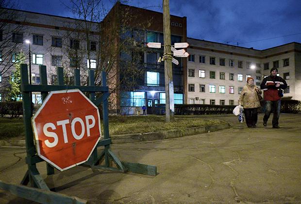 Здание Клинической инфекционной больницы им. С.П. Боткина в Санкт-Петербурге