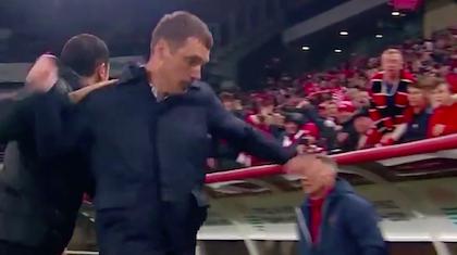 Тренер ЦСКА оттолкнул тренера «Спартака» после поражения в Кубке России