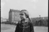 Портрет девочки на улице города. Австрия в составе Третьего рейха после аншлюса в 1938 году.