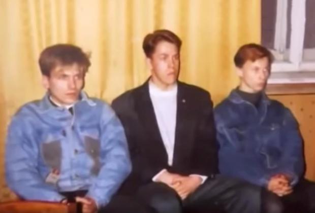 Иртышов (крайний слева) на опознании