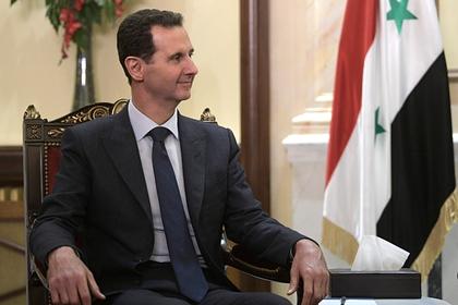 Асад объяснил присутствие российских военных в Сирии