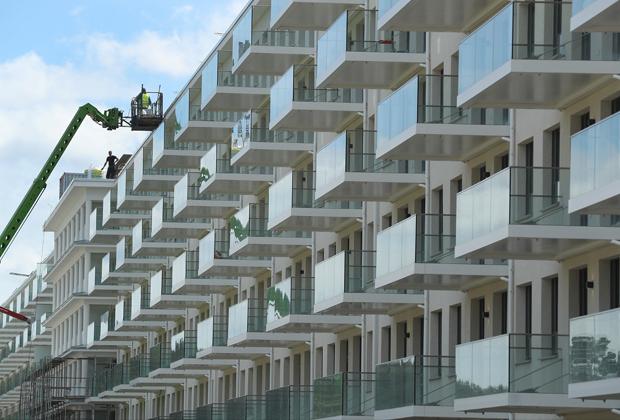 Строительство в рамках девелоперского проекта в Германии