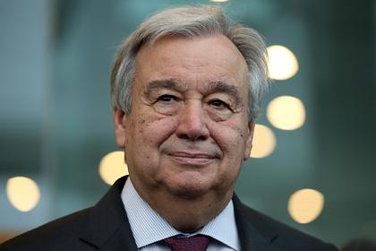 Генсек ООН захотел приехать на День Победы в Москву