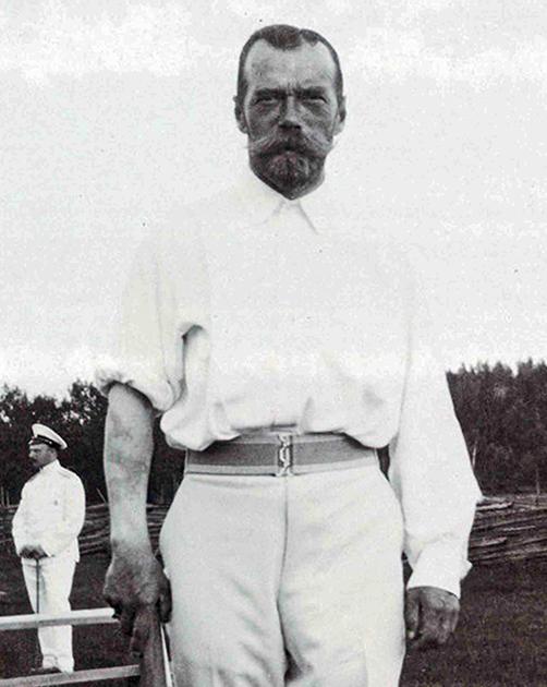 Татуировка Николая II