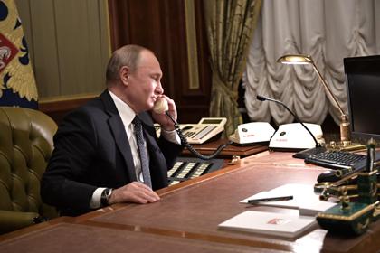 Путин позвонил Асаду