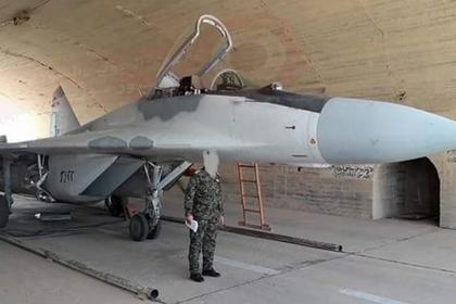 Один из МиГ-29 ВВС Сирии