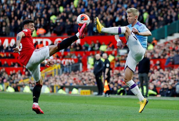 Матч «Манчестер Юнайтед» — «Манчестер Сити»
