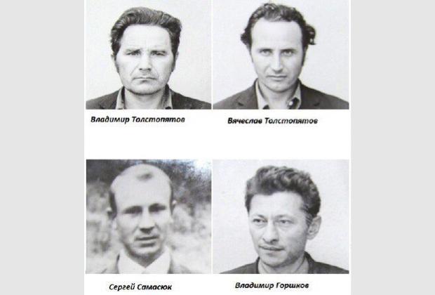 Участники банды «фантомасов»