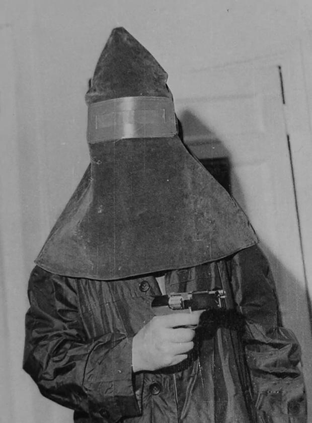Маска одного из участников банды «фантомасов»