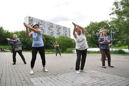 Названа доля вовлеченных в спортивную и культурную жизнь пожилых россиян