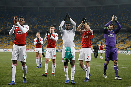 Футболистов «Арсенала» закрыли на двухнедельный карантин