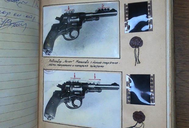 Револьвер инкассатора Анатолия Маликова, из которого он стрелял по «фантомасам»