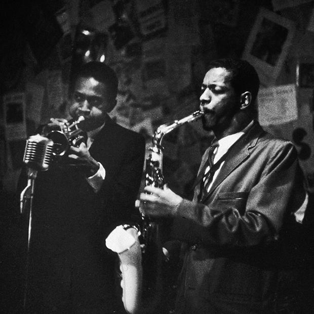 Орнетт Коулман и Дон Черри выступают в Нью-Йорке в 1959 году