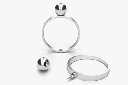 Американский ювелирный бренд создал кольцо с лезвием для самообороны