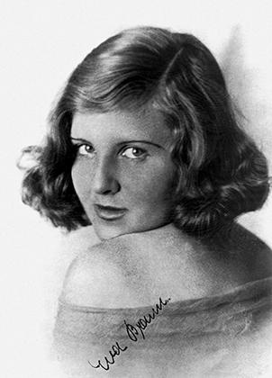 Ева Браун в 1940 году