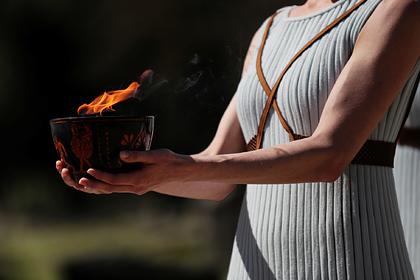 Эстафета олимпийского огня в Греции отменена из-за коронавируса