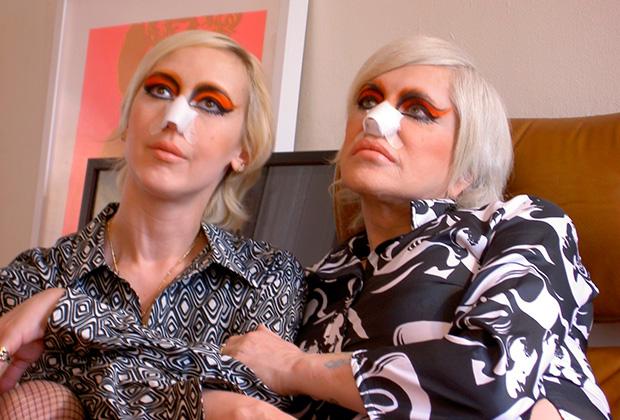 Кадр из фильма «Баллада о Дженезис и Леди Джей»