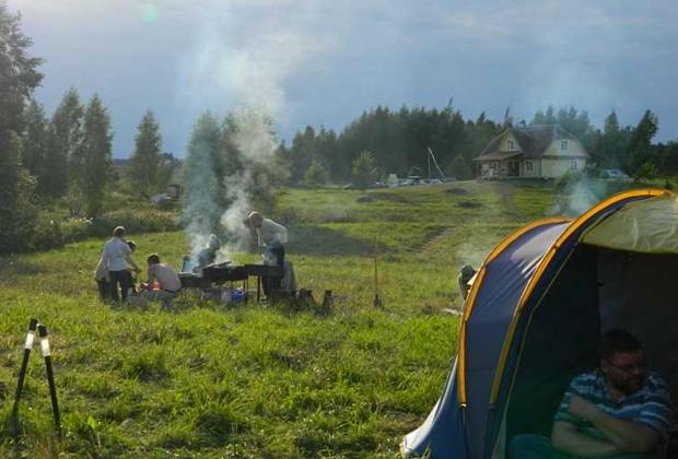Лагерь секты «Орден Пути» в Литве
