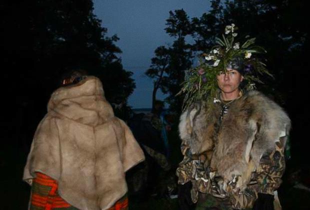 Один из ритуалов секты «Орден Пути» в Литве