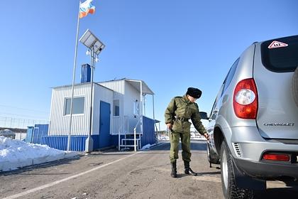 Россия запретила въезд иностранцам