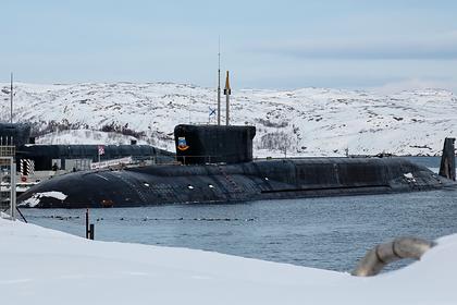 Россия модернизирует базу для подлодок в Арктике