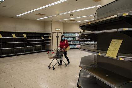 Работники супермаркетов рассказали о панических атаках из-за опустевших полок