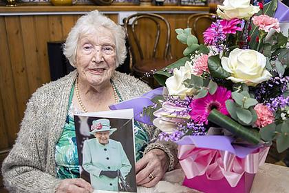 105-летняя юбилярша раскрыла секрет долголетия