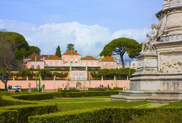 Беленский дворец — официальная резиденция президента Португалии