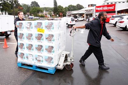 Преступники угнали грузовик с тоннами туалетной бумаги