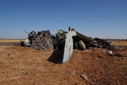 В США рассказали о 19 потерянных Россией в Сирии вертолетах и самолетах