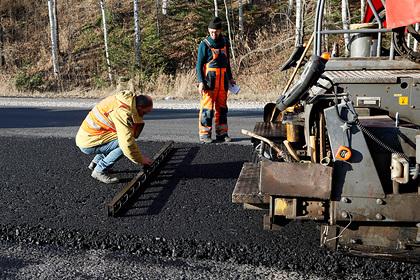 В Красноярске увеличили план дорожного ремонта