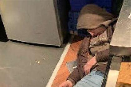 Вор уснул на месте преступления и попал в тюрьму