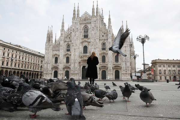 Суточная смертность от коронавируса в Италии пошла на спад