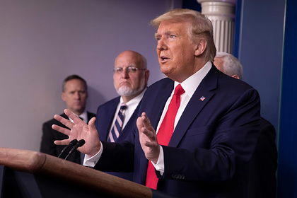 Трампа сочли подходящим президентом во время кризиса из-за коронавируса