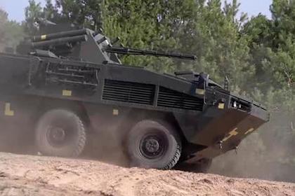 Украина испытала новейший БТР «Отаман 6x6»