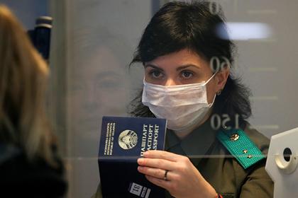 Белоруссия собралась упростить визовый режим с ЕС во время пандемии коронавируса