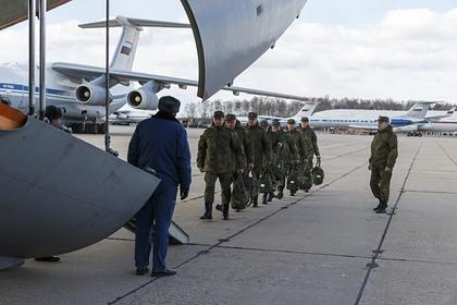 Российских военных проверили на коронавирус